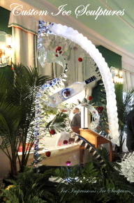 Ice Bars, Ice Luge, Ice Luges, Custom Ice Bars, Brand & Product Promotion Ice Sculpture Presentations, Ice Impressions.