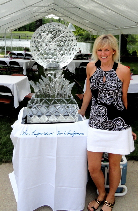 Com-Ice Luge, Com-Ice Bar, Com-Ice Sculpture, Com-Ice Carving, Com-Ice Carvings, Com-Ice Sculptures, Ice Impressions, Michigan Ice Sculptures, Northern Michigan Ice Sculptures, Golf Event Ice Sculptures.