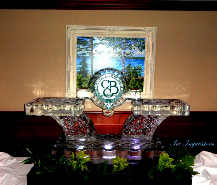 Ice Impressions, Seafood Ice Sculpture Presentation, Ice Sculpture, ice Carvings