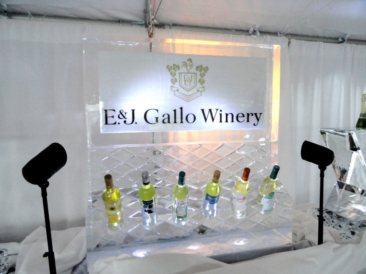 product promotional ice sculptures