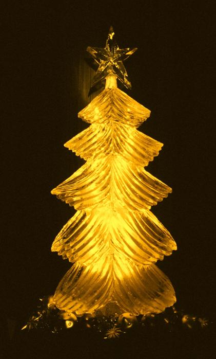 Christmas Tree Ice Sculpture, Christmas Tree Ice Carving, Christmas Tree, Ice Impressions.