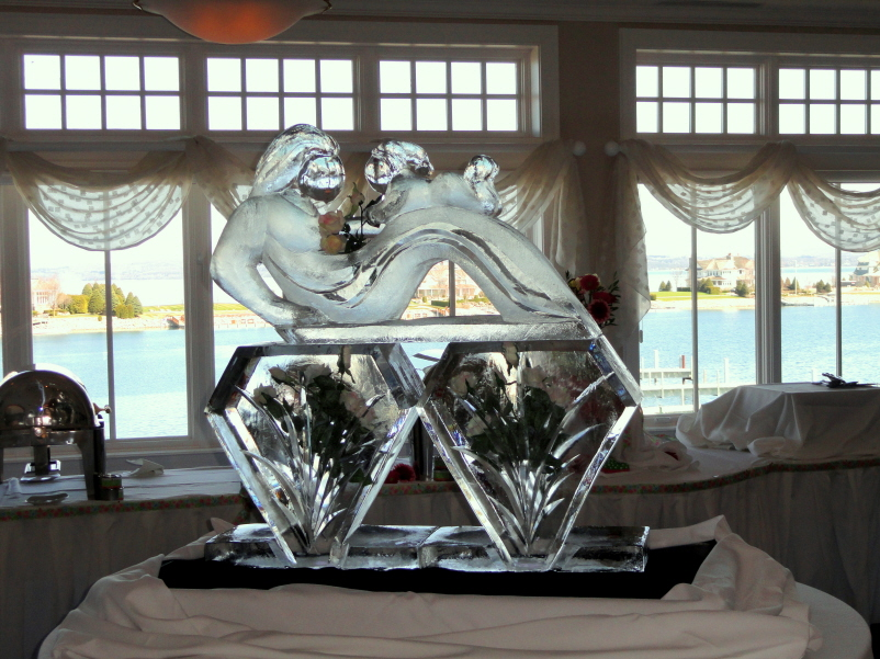 Mothers Day Ice Sculptures